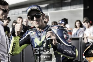 """Valentino Rossi: """"Comenzar desde la pole es siempre importante"""""""
