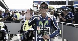 """Valentino Rossi: """"Ha sido una clasificación complicada"""""""