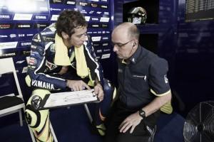 """Valentino Rossi: """"No estamos en el mismo nivel que el año pasado"""""""