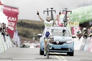 Miguel Reyes se adjudicó con la etapa 9 de la Vuelta a Colombia