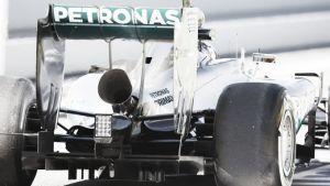 Pastor Maldonado, el más rápido en los test de Montmeló