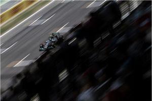 Nico Rosberg muestra su candidatura en los Libres 3 del Gran Premio de España