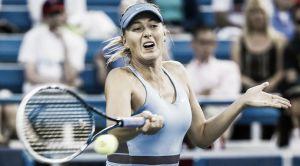 Sharapova pisa fuerte en Cincinnati