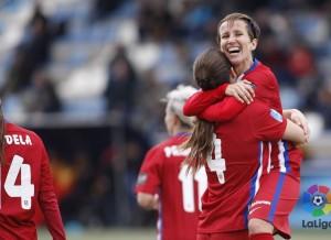 El Atlético Féminas recupera la sonrisa