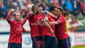 Osasuna - Betis: puntuaciones de Osasuna, jornada 11 de Liga Adelante
