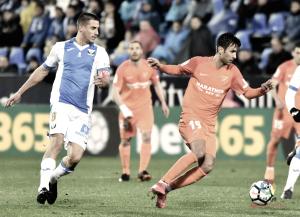 CD Leganés - Málaga CF, puntuaciones del Málaga, jornada 26 de LaLiga