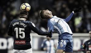El Málaga CF no encuentra el gol