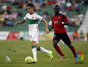 Resultado Numancia vs Mirandés en Liga Adelante 2015 (2-2)