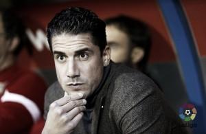 """Velázquez: """"Me ha gustado muchísimo la reacción del equipo después del gol"""""""