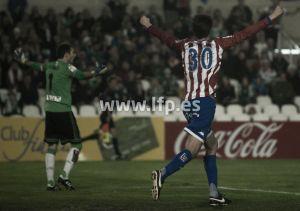 Real Sporting - Racing de Santander, ¿qué pasó en la primera vuelta?