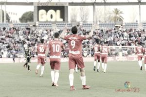UD Almería-Granada CF: puntuaciones de la UD Almería, LaLiga 1 2 3