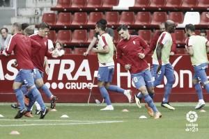 Real Sporting - CD Numancia: puntuaciones Sporting, jornada 5 de LaLiga 1 2 3