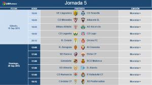 El Real Valladolid conoce los horarios de la quinta y sexta jornada