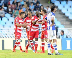 Real Sociedad - Granada CF: puntuaciones del Granada CF, jornada 37