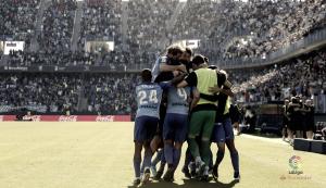 Málaga CF- Deportivo de la Coruña: puntuaciones del Málaga CF, jornada 12 de la Liga Santander