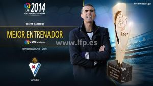 Mejor entrenador de la Liga Adelante 2013/14: Gaizka Garitano
