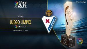 Premio al juego limpio de la Liga Adelante 2013/14: SD Eibar