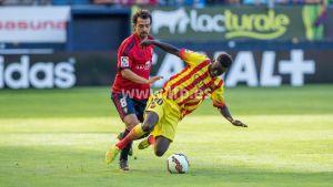Osasuna se aprovecha de la bisoñez del Barça B