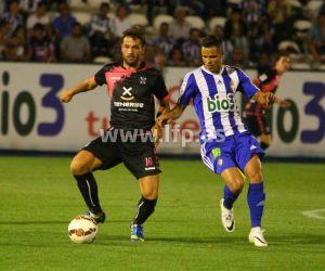 """Aitor Sanz: """"Hemos competido muy bien, pero una jugada a balón parado nos ha condenado"""""""