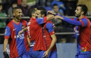 Levante UD - Las Palmas: puntuaciones del Levante UD, jornada 21 de la liga BBVA