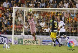 Valencia CF - Granada CF: puntuaciones del Granada CF, jornada 6