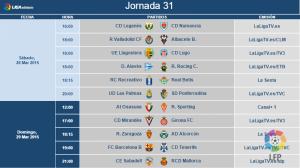 Real Valladolid-Albacete, sábado 28 de marzoa las 18.00 horas