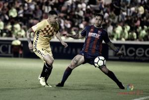 No pudo ser en el último partido de la temporada en el Alcoraz frente al Nàstic