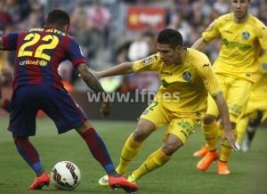 El Getafe nunca ha ganado en el Camp Nou