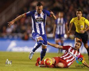 Deportivo - Atlético: puntuaciones del Dépor, jornada diez de la Liga BBVA