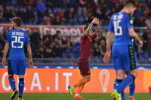 Roma-Sassuolo, tre gol per riprendere quota. Le voci di fine gara