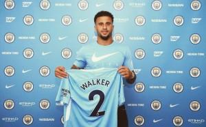 Manchester City - Ufficiale l'acquisto di Walker per 60 milioni