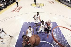 Resumen NBA: los Warriors, en busca del récord; Washington apura sus opciones