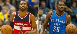 Wall y Durant, Jugadores de la Semana