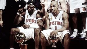 Detroit Pistons retirará las camisetas de Billups y Wallace