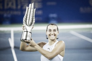 WTA Wuhan: Caroline Garcia edges past Ashleigh Barty to claim title