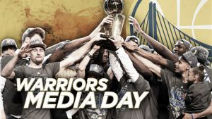 Media Day de Golden State Warriors