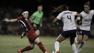 Alanna Kennedy lifts the Orlando Pride to victory over the Washington Spirit with a midfield shot