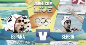 España - Serbia en directo online en Juegos Olímpicos Río 2016 (7-10): Waterpolo Español K.O.