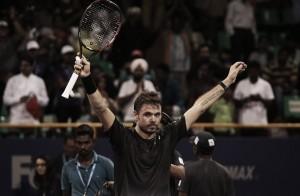 Wawrinka, rey en Chennai por tercer año consecutivo
