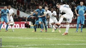 England 3 - 1 Slovenia: Rooney scores on 100th cap as England win five in a row