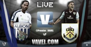 West Brom vs Burnley en vivo y en directo online