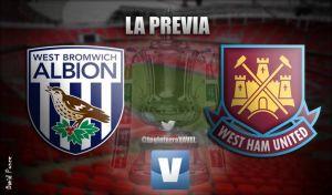 West Bromwich Albion - West Ham United: comienza lo duro en la FA Cup