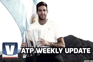 ATP Weekly Update week 11: Juan Martin del Potro makes a statement with breakthrough win