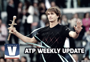 ATP Weekly Update week 19: Alexander Zverev challenging for clay supremacy