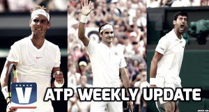 ATP Weekly Update week 27: Big three making it look easy at Wimbledon