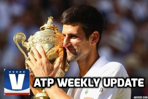 ATP Weekly Update week 28: Novak Djokovic is back after wild Wimbledon