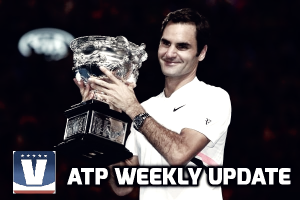 ATP Weekly Update week four: Roger Federer reigns again in Melbourne