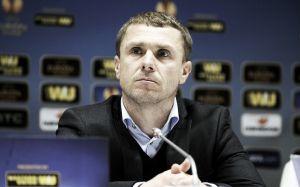 """Serhiy Rebrov: """"Una pena el empate a última hora, pero todavía queda la vuelta"""""""