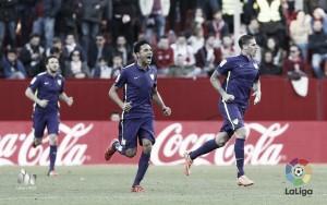 El Málaga acaba la jornada a ocho puntos del descenso