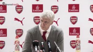 """Wenger: """"Cuando estemos en fuera de juego no tenemos que argumentarlo en la conferencia de prensa"""""""
